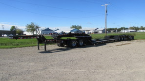 60 Ton Detachable Gooseneck Trailers